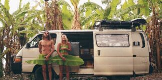 hippie couple