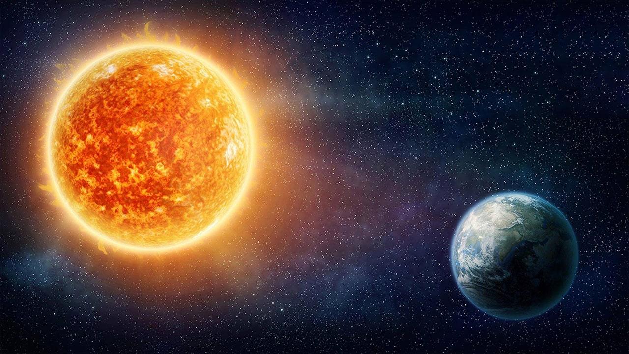 sun heat rays